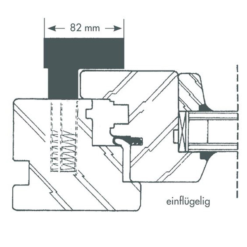 Fenstersicherung Bever Stuco-Safe 20SW weiß 1-flügelig – Bild 7