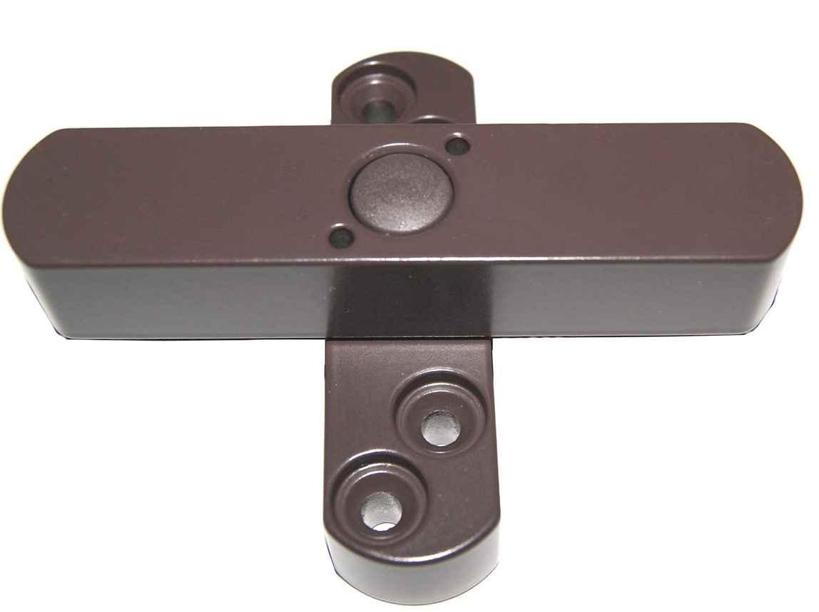 Bever Fenstersicherung Stuco-Safe 21SB für Fenster mit 2 Flügeln - braun