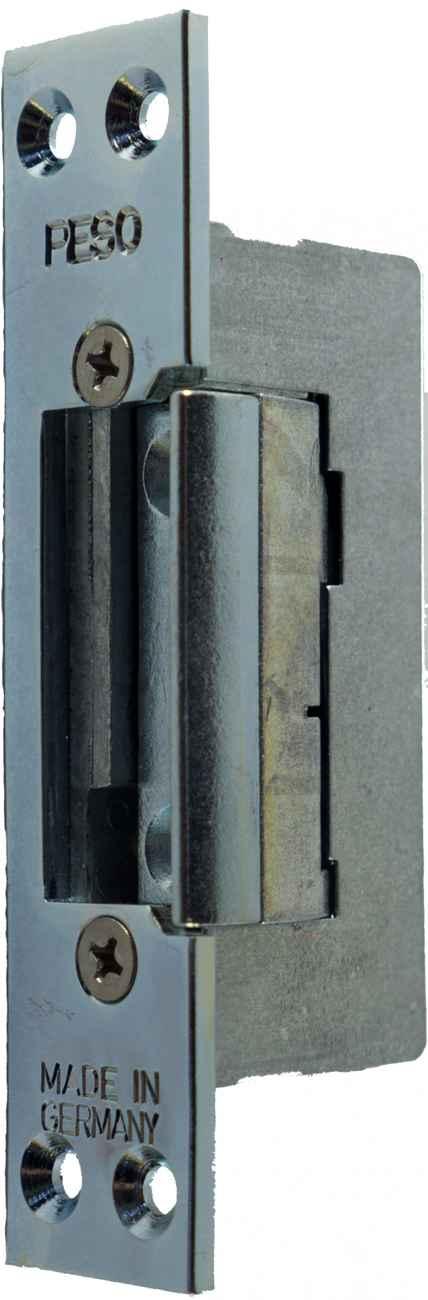 elektrischer Türöffner Peso 300 6 - 12 Volt mit Schließblech 110 x 24 – Bild 1