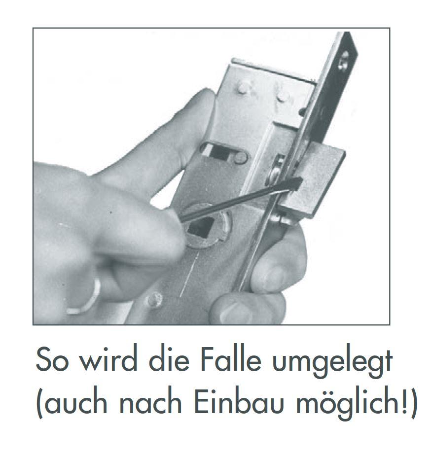 Rohrrahmenschloss 1004  Stulpe 24 x 245 verzinkt Nuss 8mm Entferung 92 Dornmaße 18,20,22,24,30,35,40,45 – Bild 6