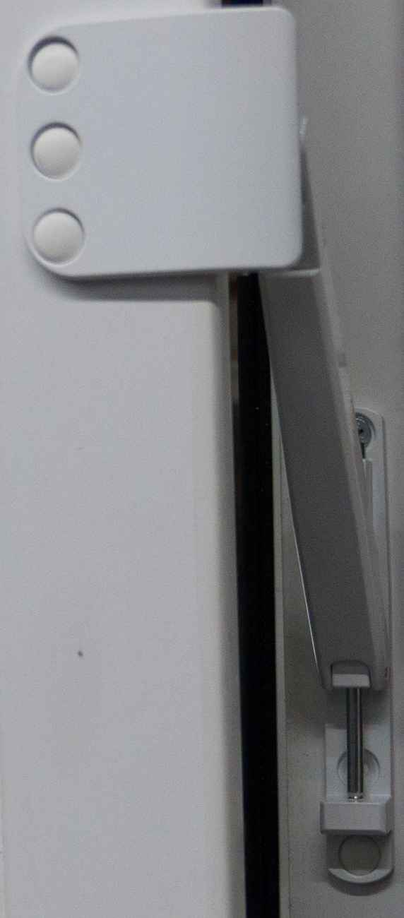 Bandseitensicherung für Fenster und Balkontüren weiß – Bild 3