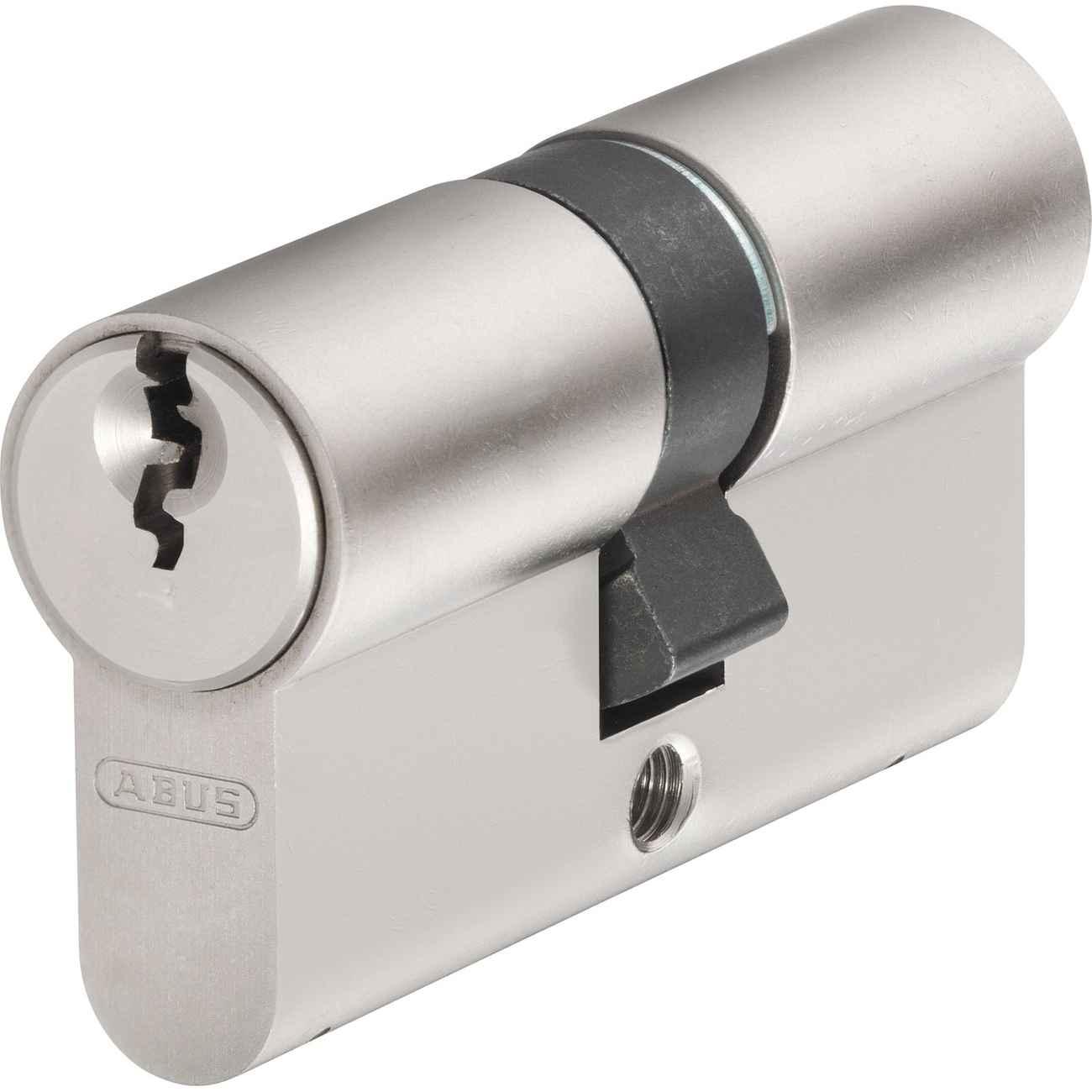 ABUS Profilzylinder E20NP Länge 40/40 Türzylinder mit Profilschlüssel – Bild 1