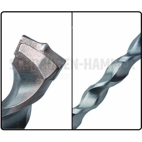 Hammerbohrer SDS-plus DUAL 6,5 X 260/200 – Bild 3