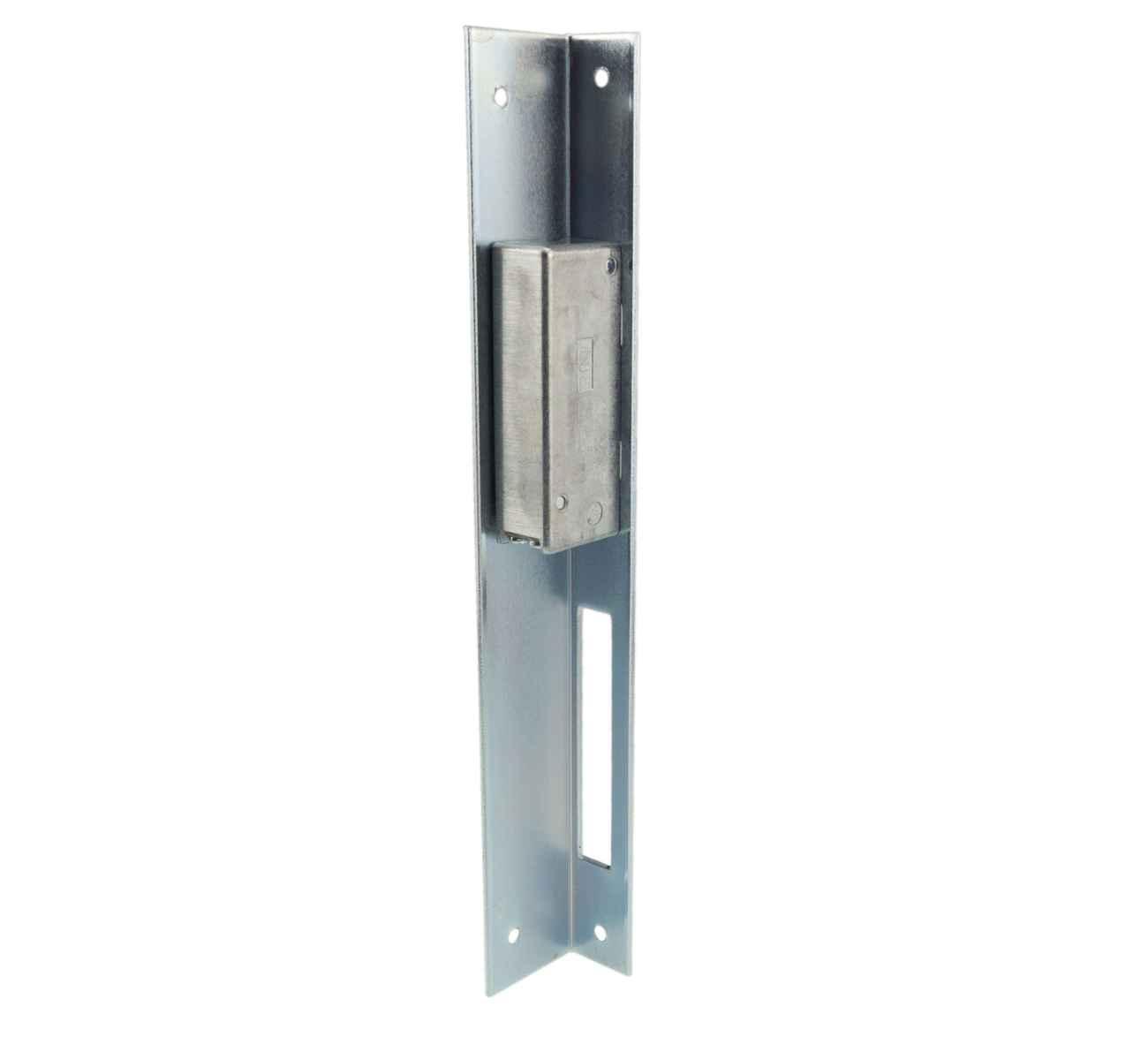 Elektrischer Türöffner Peso 351 L mit Winkelblech Links, 6 - 12 Volt – Bild 3