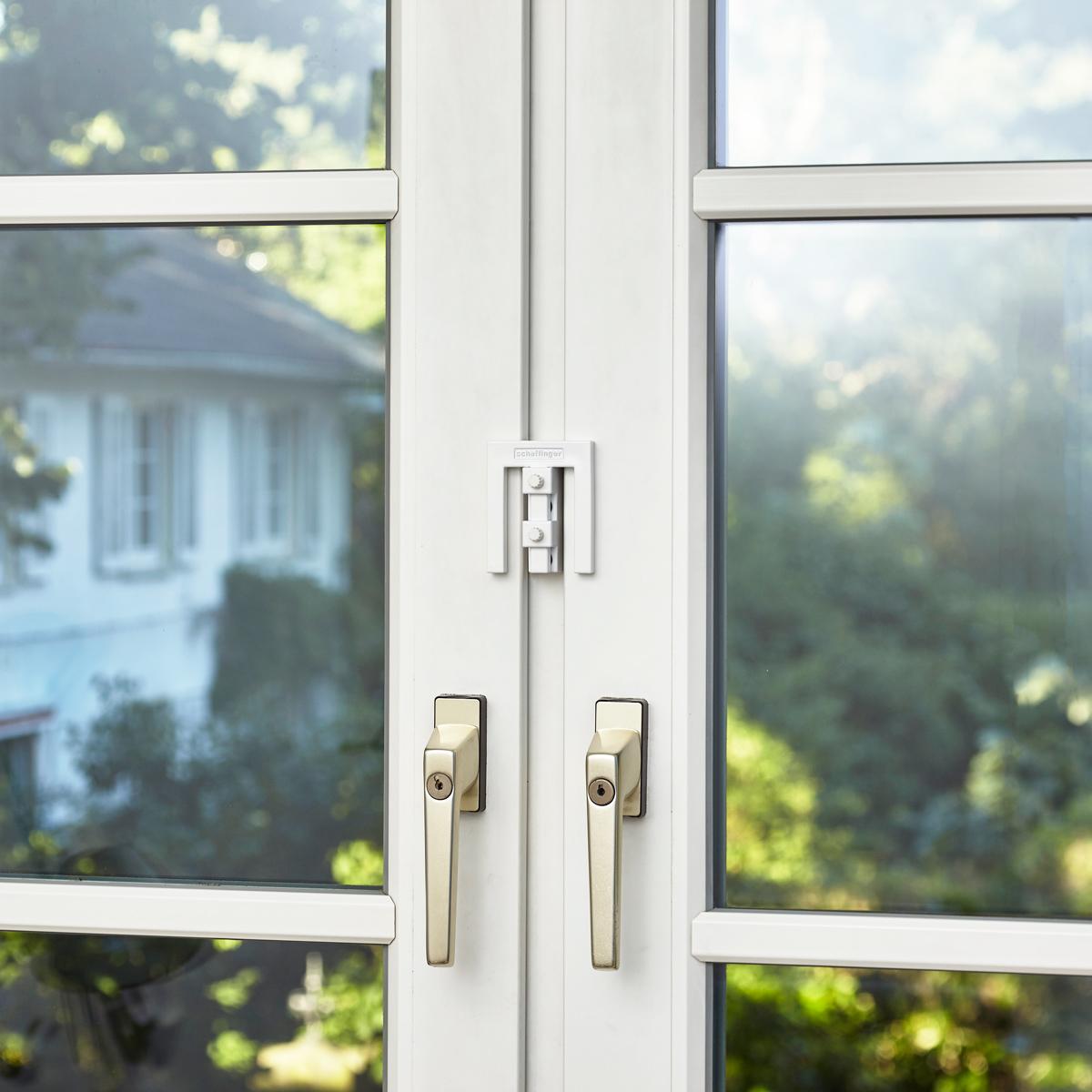 8er set em3 riegel weiss 8 st ck fenster sicherheit sets for Fenster hammer