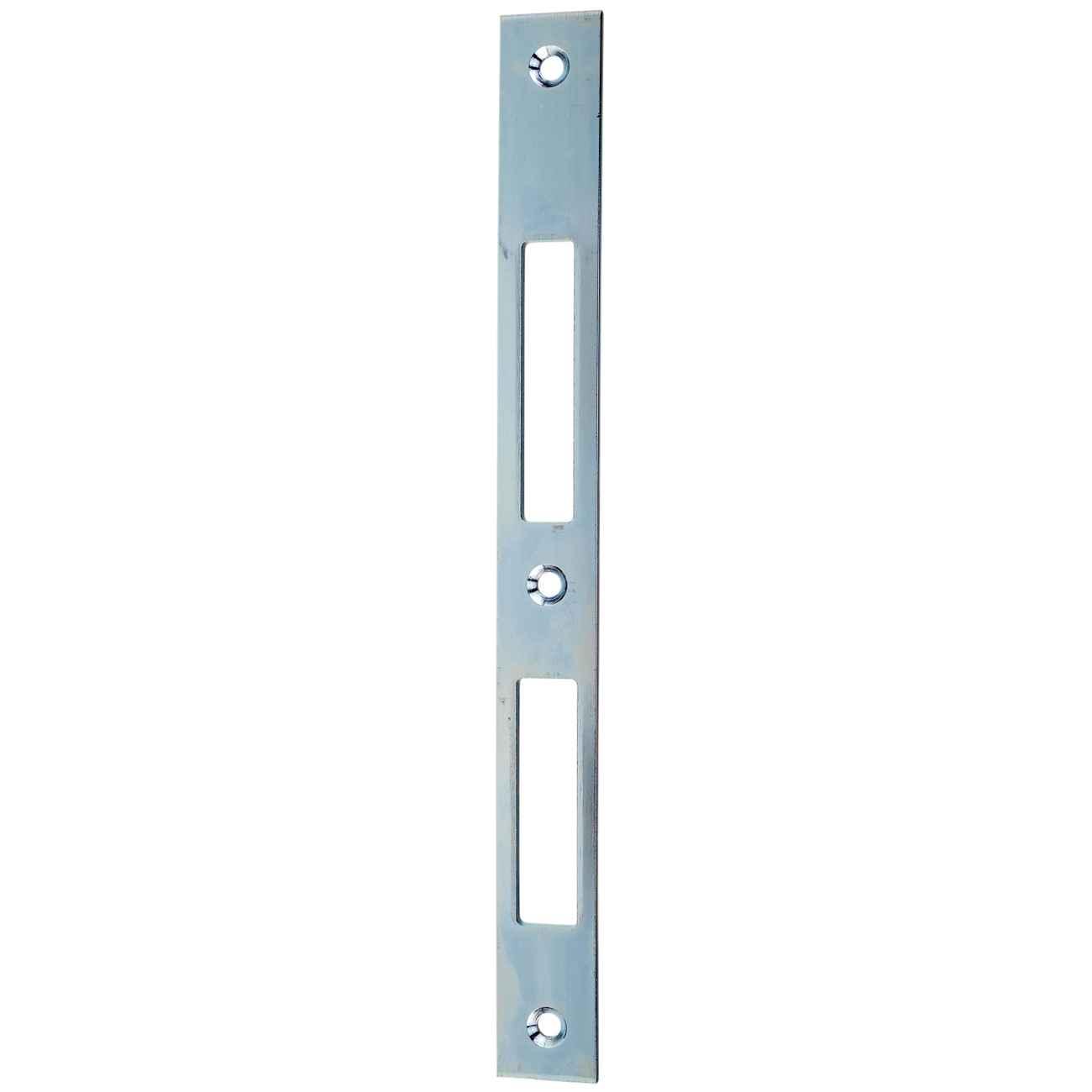 Schließblech für Rohrrahmenschlösser 24 x 245 mm verzinkt