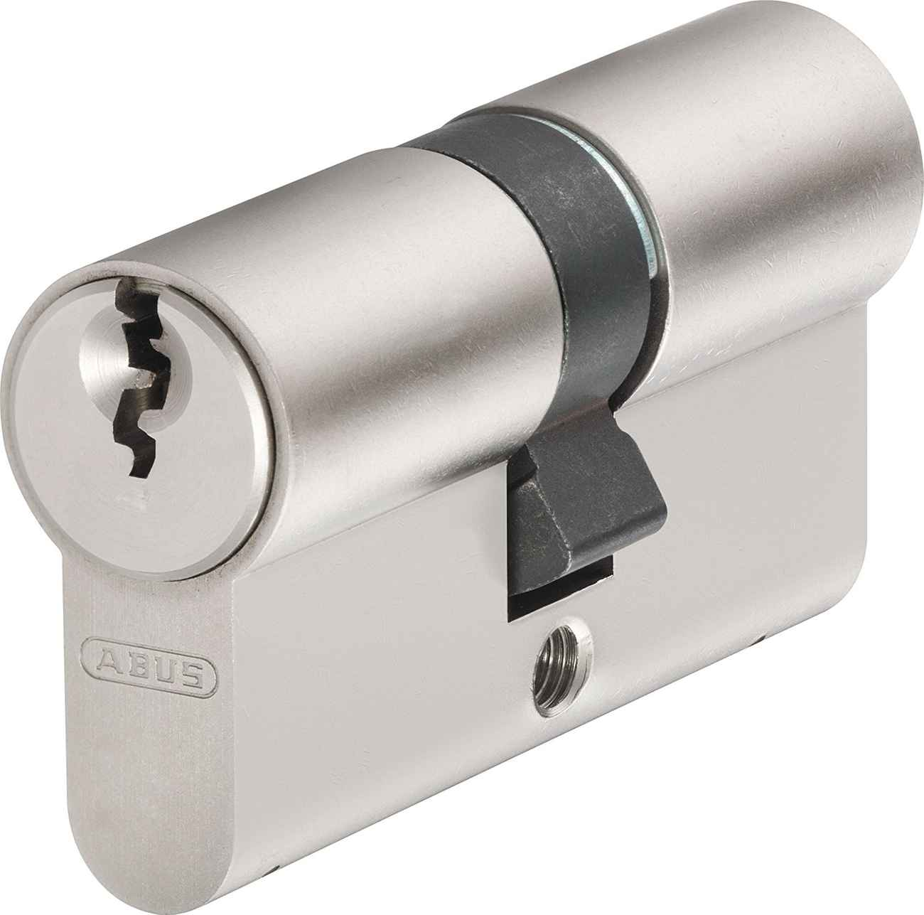 Abus Profilzylinder D6X 40/45 mm, 5 Schlüssel, Codekarte – Bild 1