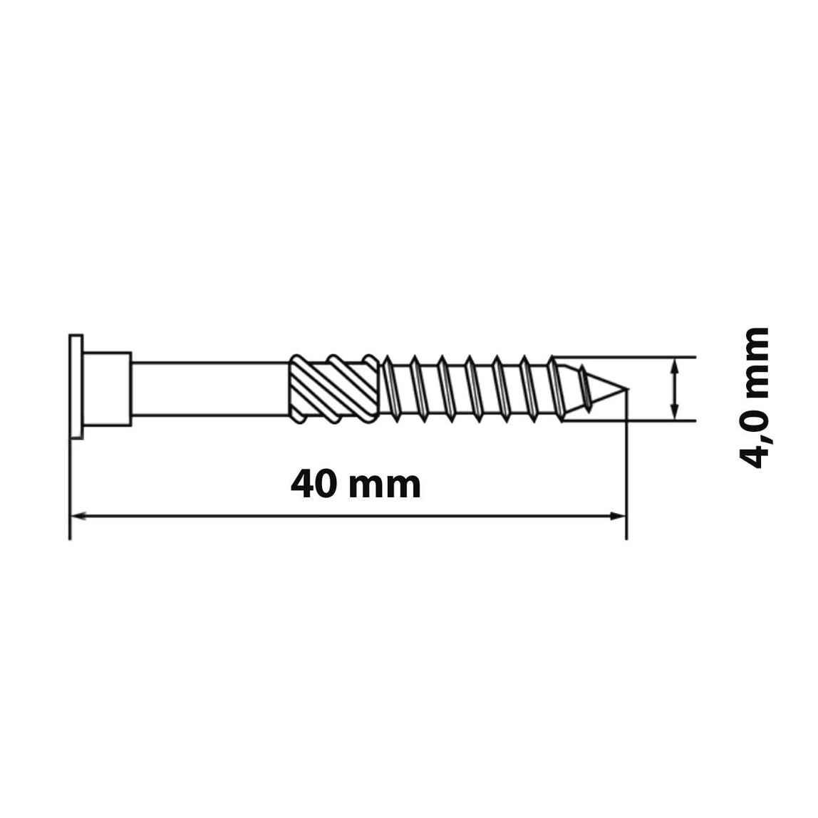 300, 5,0 x 50 mm /Ø 5 mm 50 bis 100 mm Terrassenschraube Edelstahl C1| Holzschraube