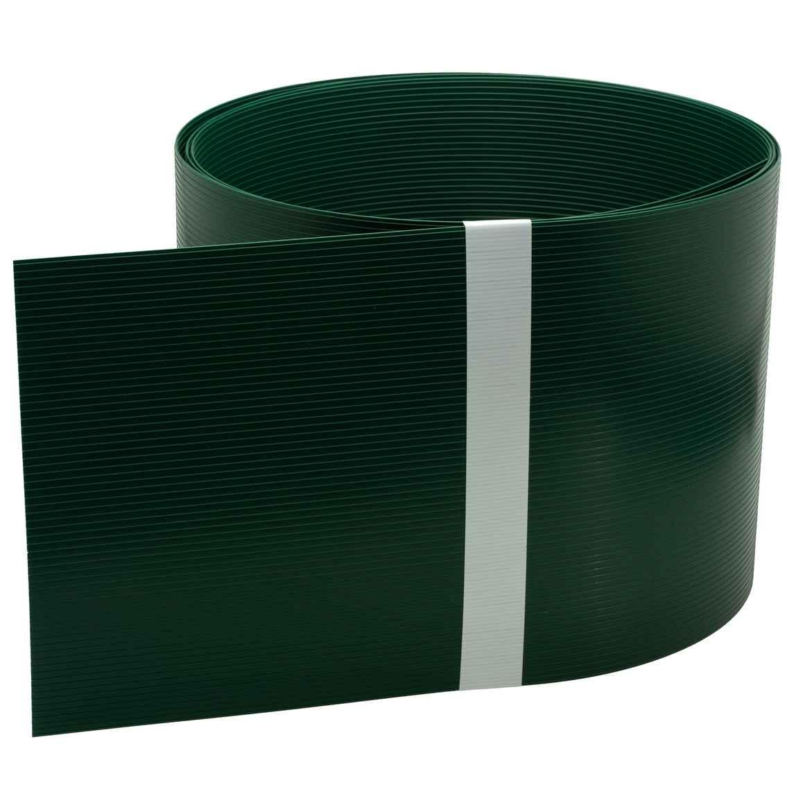 Zaun Sichtschutzstreifen Aus Hart Pvc Grun 252x19 Cm Fur